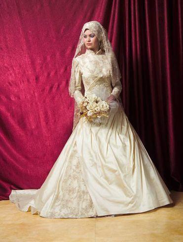Мусульманские свадебные платья 2011 (фото)
