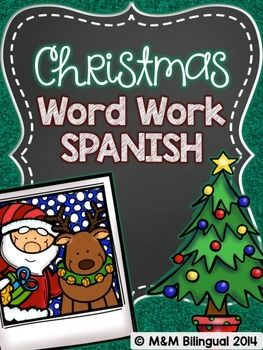 SPANISH alphabetical order, syllable work, spin a sentence, grammar cut and paste, and more!!!!! Check it out :)