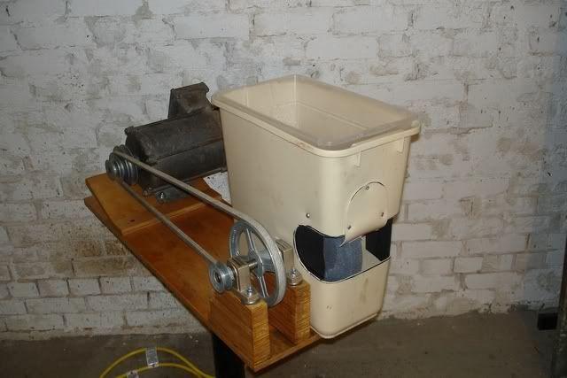 Homemade Wet Grinder Tormek Style By Julian