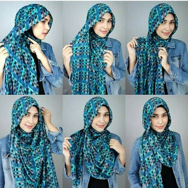 Style your hijab #tutorial by Rani Hatta