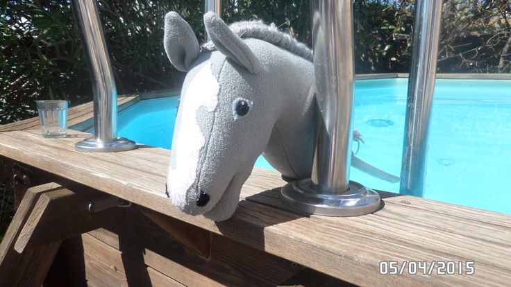 horses By the pool