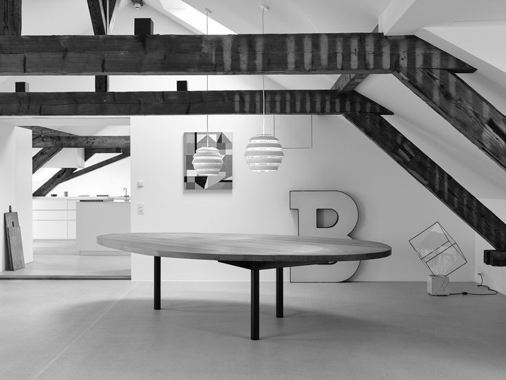 FREIFORM TABLE by INCHfurniture custom made for a private home.