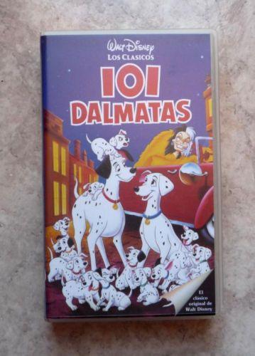 Pelicula-de-Video-VHS-POCAHONTAS-101-DALMATAS-de-Walt-Disney