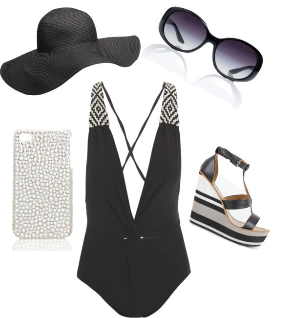 """""""Classy Pool Party"""" by amy-brinkmeyer on Polyvore"""