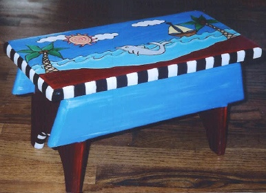 Lovely Whimsy Furniture   Unique, Hand Painted Furniture
