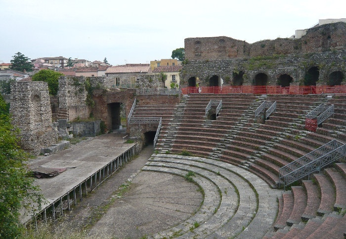a trip to the roman theatre essay Roman theatres received their fundamental design from the first permanent roman theatre, the theatre of pompey the theatres held affairs such as plays, pantomimes, and lectures the scaenae frons was a tall rear wall of the stage floor, supported by columns.