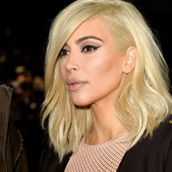 kim kardashian platinum blonde | Kim Kardashian reveals Madonna was inspiration behind the new platinum ...