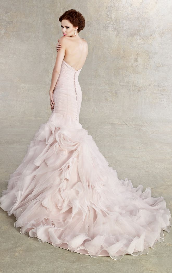 Love this skirt! ...Kitty Chen 2013 Bridal Collection