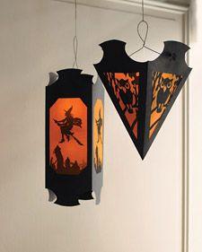 heksen en uilen lampion