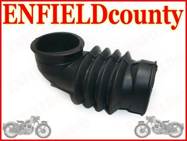 ROYAL ENFIELD NEW MODEL AIR FILTER TO CARB HOSE PIPE