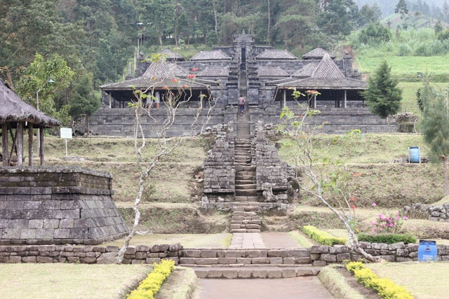 This photo of Candi Cetho, was taken during my trip to Solo, Central Java - Indonesia.    For stories about my trip, please go to:    - Part One: http://wp.me/p1VkQt-tf  - Part Two: http://wp.me/p1VkQt-vS