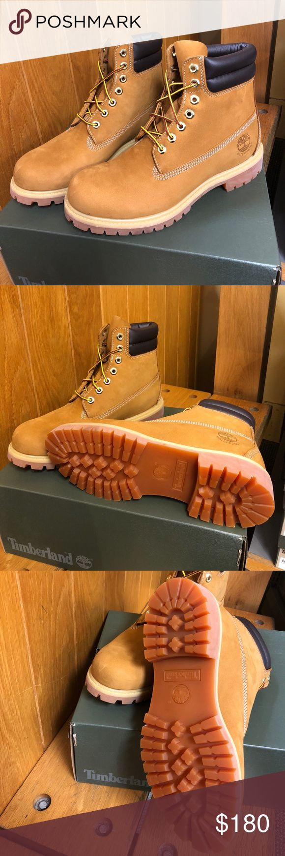 Men's Timberland Boots Premium waterproof leather uppers provide protection to keep feet dry and comfortable in any weather Seam-sealed construction Leather lining for comfort and durability Nylon laces Rustproof hardware 200 grams of PrimaLoft® insulation Timberland Shoes Boots