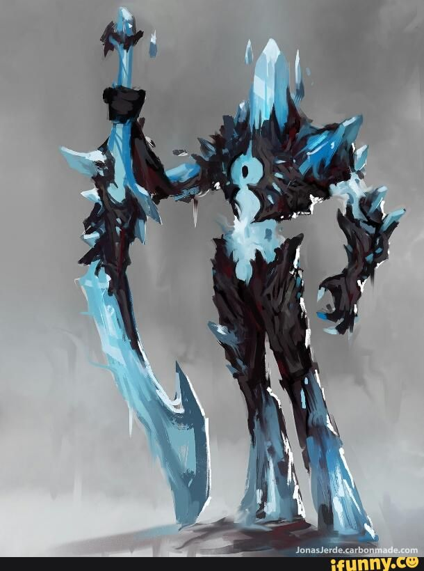 Fantasy Character Design Tips : Dundeonsanddragons epic ice golem fanmctastic