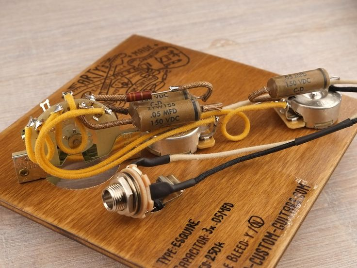 vintage telecaster wiring harness kit