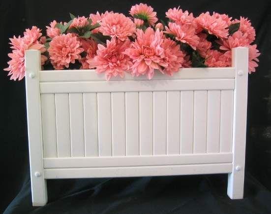 Weiße Blumenkübel #Gartenmöbel Gartenmöbel Pinterest   Gartenmobel Rattan  Ausverkauf
