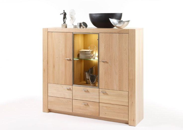 Highboard Madeira Holz Eiche Bianco 9193. Buy now at https://www.moebel-wohnbar.de/highboard-madeira-holz-eiche-bianco-9193