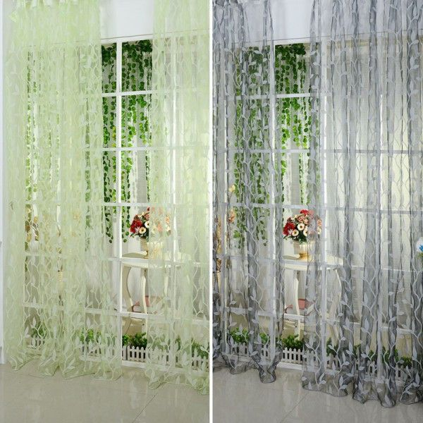 Leaf Type Window Curtain