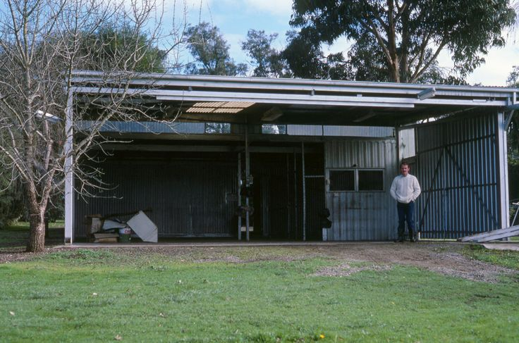 Chris Phillips – circa 1985 standing in our empty and newly purchased warehouse/shed  on a 1 ½ acre property amongst the rolling green hills of Lilydale, Victoria.