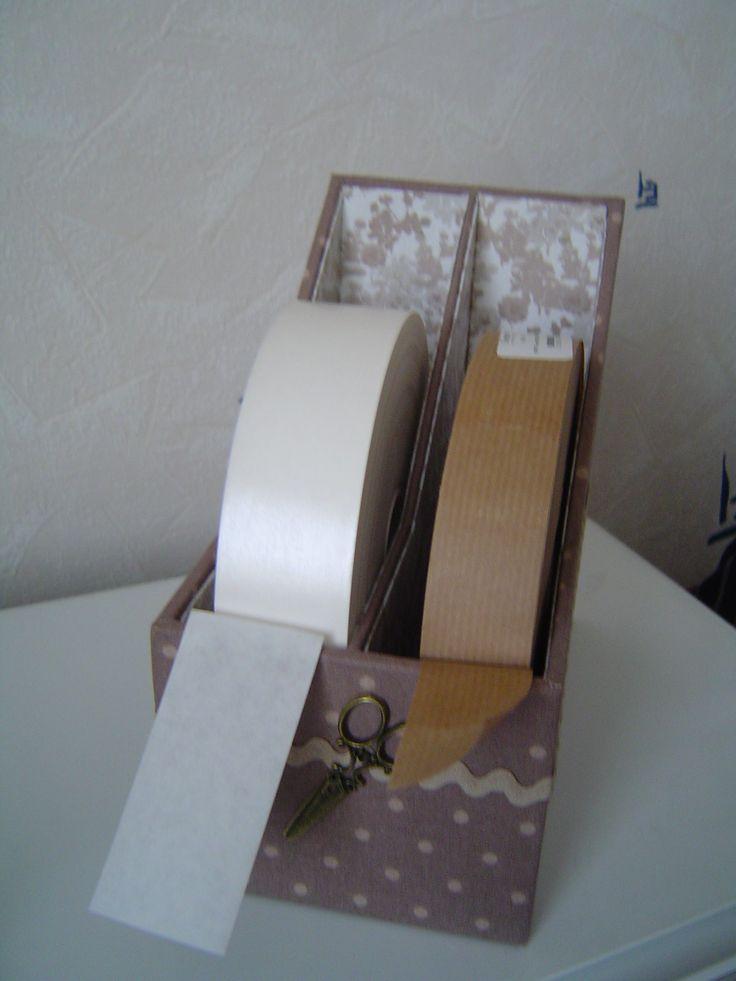 très pratique pour les rouleaux de papier kraft