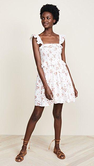 fb2f874e6bf2 Amanda Uprichard Smocked Dress | Natural Hair: