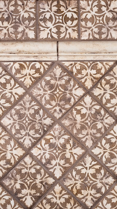 Country floors olde english tile print carrelages for Carrelage english