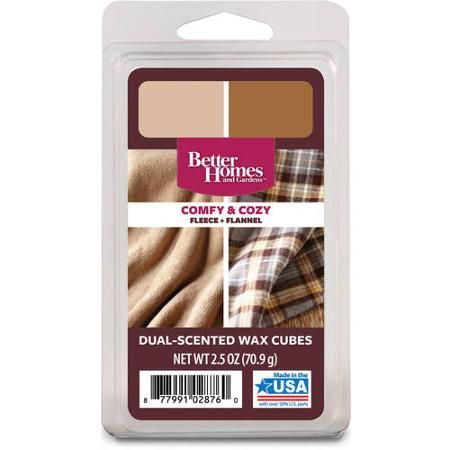 Better homes and gardens wax duo comfy and cozy wax and walmart for Better homes and gardens wax melts