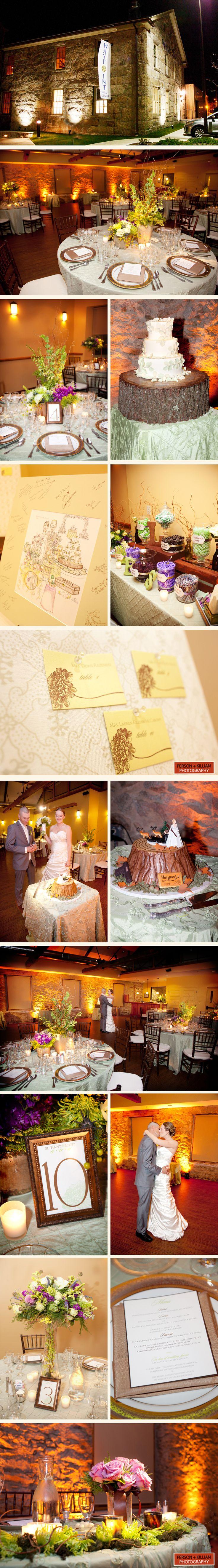 Elegant Woodsy Wedding