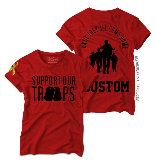 25 best red friday ideas on pinterest red friday shirts for Red support our troops shirts
