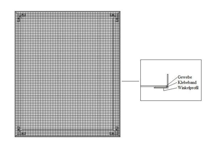 insektenschutz selber bauen gittergewebe einspannen bauen. Black Bedroom Furniture Sets. Home Design Ideas