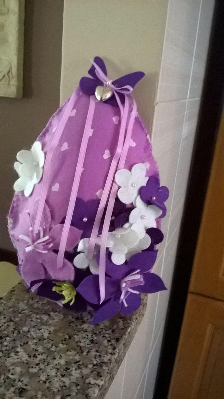 Uovo creato da Isabella e Rosetta