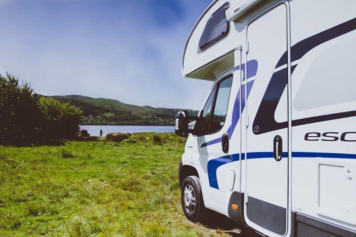Lakeside by Lake Bala, Wales  Motorhome      Travel    Outsideisfree