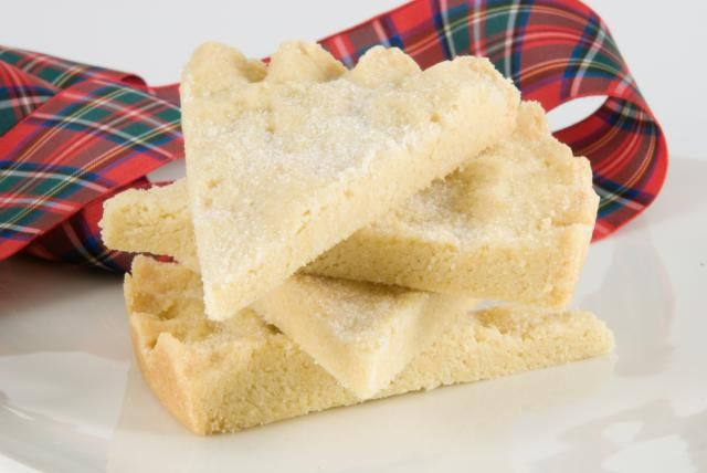 Traditional Scottish Shortbread Recipe - one of the most famous Scottish biscuits and eaten around Christmas. Shortbread is also an essential part of a traditional Scottish New Year.