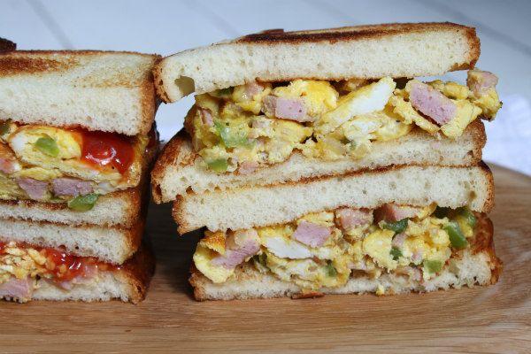 Dad's Denver Sandwiches - recipe from RecipeGirl.com