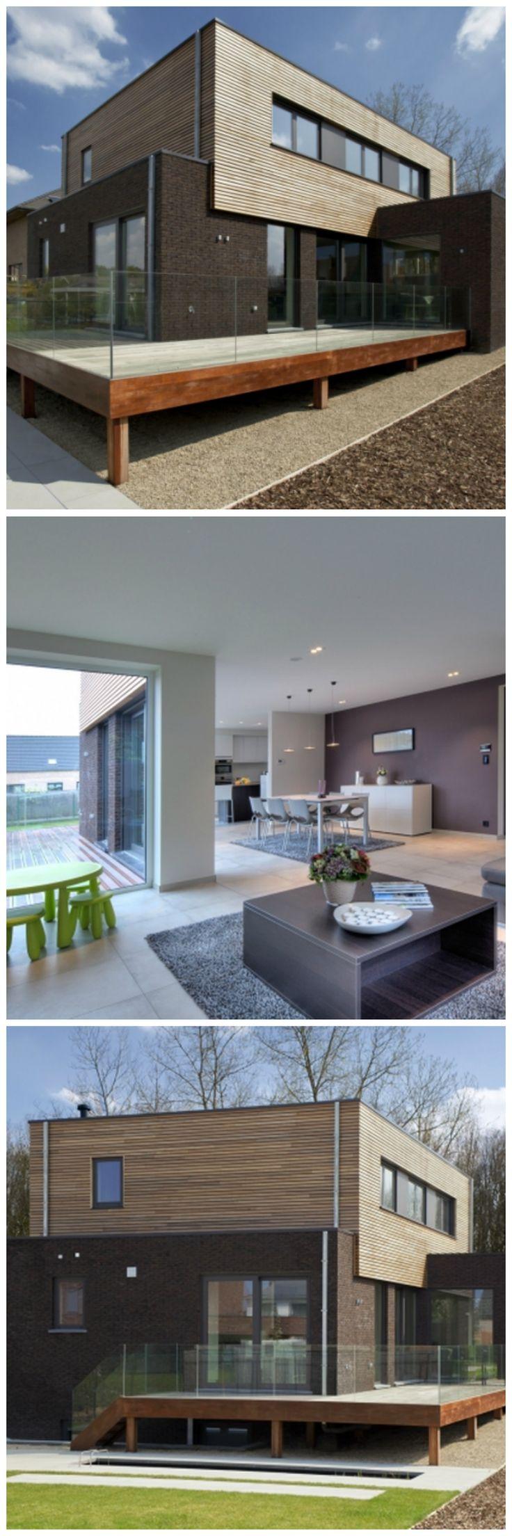 55 best nouvelle construction moderne images on pinterest modern architects and calculus. Black Bedroom Furniture Sets. Home Design Ideas