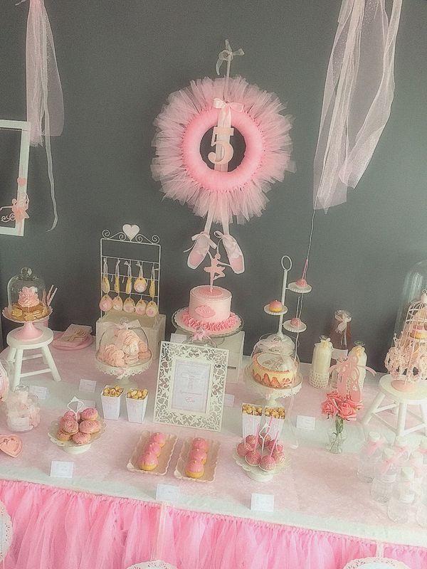 sweet table danse ballerine ballet