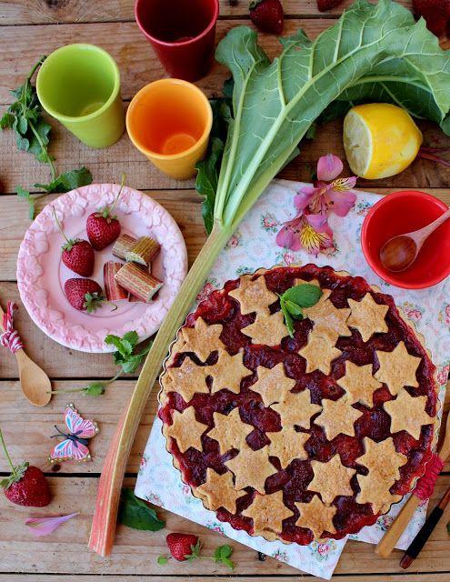 Nárwen's Cuisine: Tarte de Ruibarbo e Morango