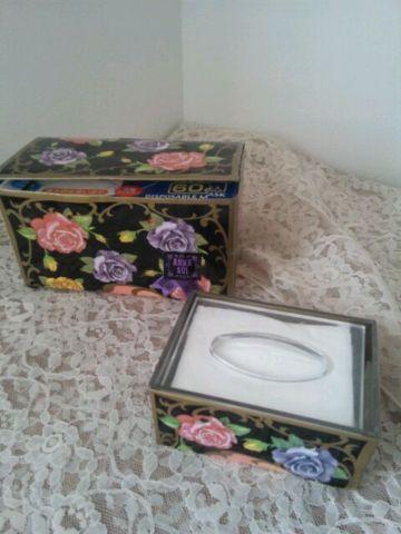 「chi_mamaponさん@chi_mamapon: アナスイのショップ袋で、お徳用マスクの箱と、ポケットティッシュケースをドレスアップ* 」(ついっぷるフォト)