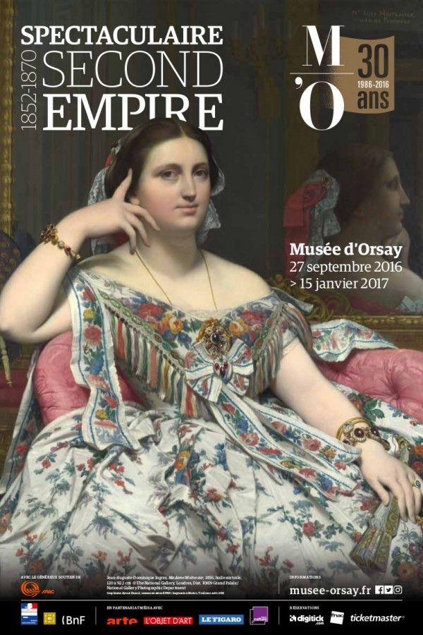 Spectaculaire Second Empire (1852-1870) au Musée d'Orsay. Affiche
