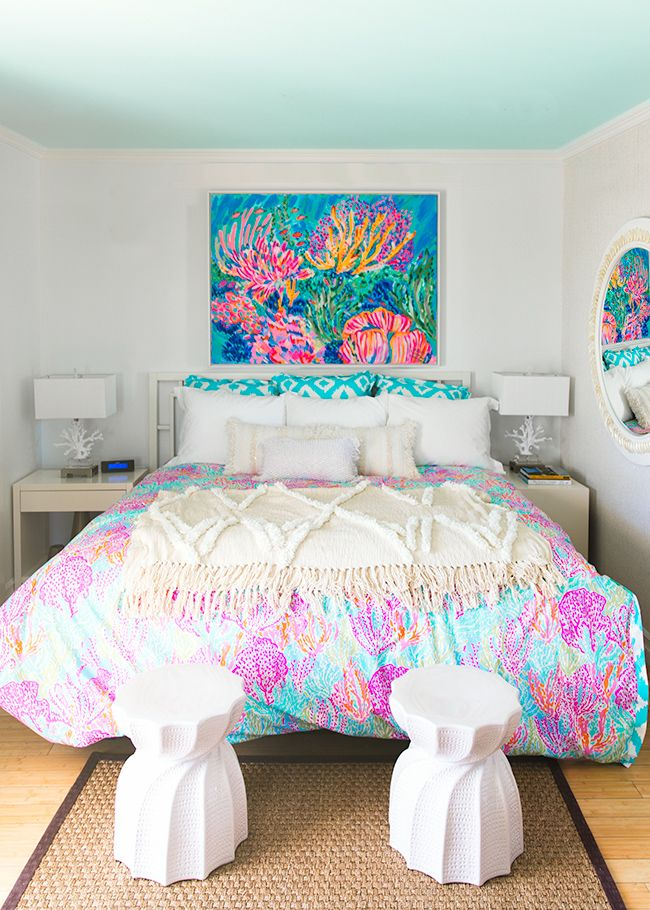 Lilly Pulitzer bedroom