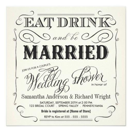 elegant couple s wedding shower invitations elegant wedding
