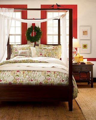 25 best christmas bedding images on pinterest - Pottery barn holiday bedding ...