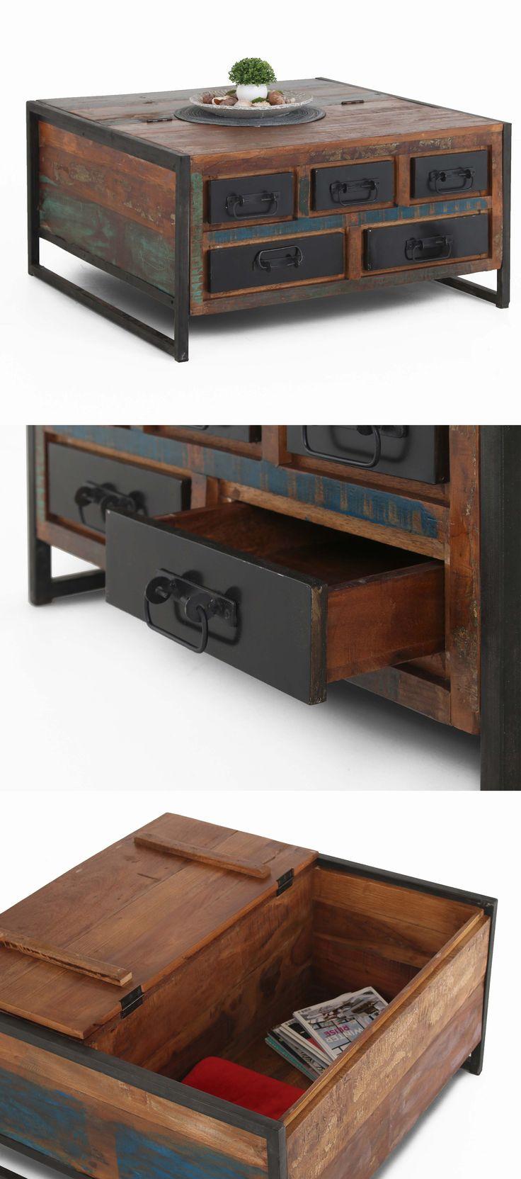 vintage couchtisch bali im shabby chic look begeistert. Black Bedroom Furniture Sets. Home Design Ideas