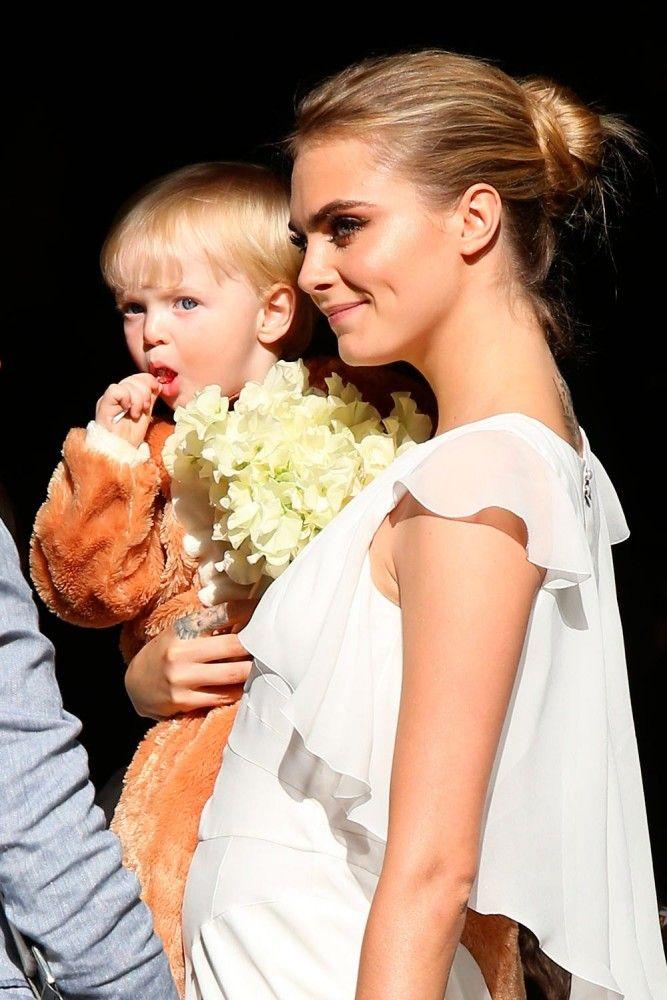 Cara - Poppy Delevingne's Wedding