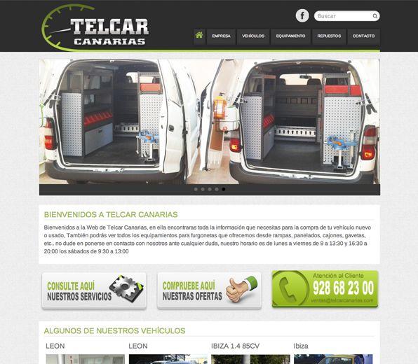 Telcarcanarias.com Creación de la imagen corporativa y desarrollo de la página web con sistema responsivo. #web_design #web #paginas_web #web_las_palmas #web_canarias #paginas_web_las_palmas #paginas_web_canarias