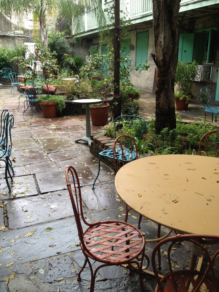 Courtyard Of Lucullus Epicurean Shop, French Quarter, NOLA