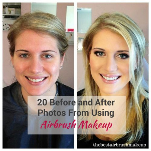 #airbrush makeup before and after