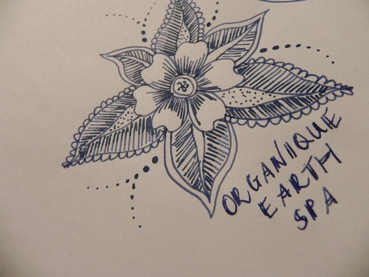 www.organiqueearthspa.com.au Organique Earth Spa - Mornington Day spa experience. Some creative Organique artwork - practicing my henna designs...