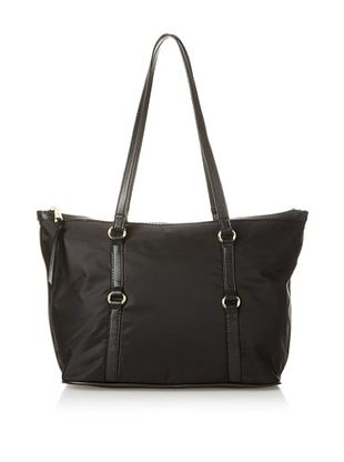 40% OFF co-lab by Christopher Kon Women's Laura Nylon Tote, Black