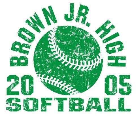 softball t shirt for teams or school at color creek t shirts