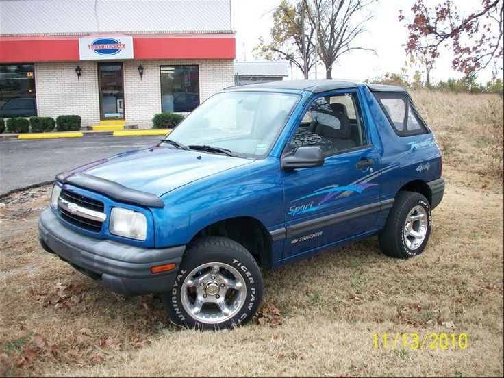 2000 Chevrolet Tracker Cars I Have Owned Pinterest